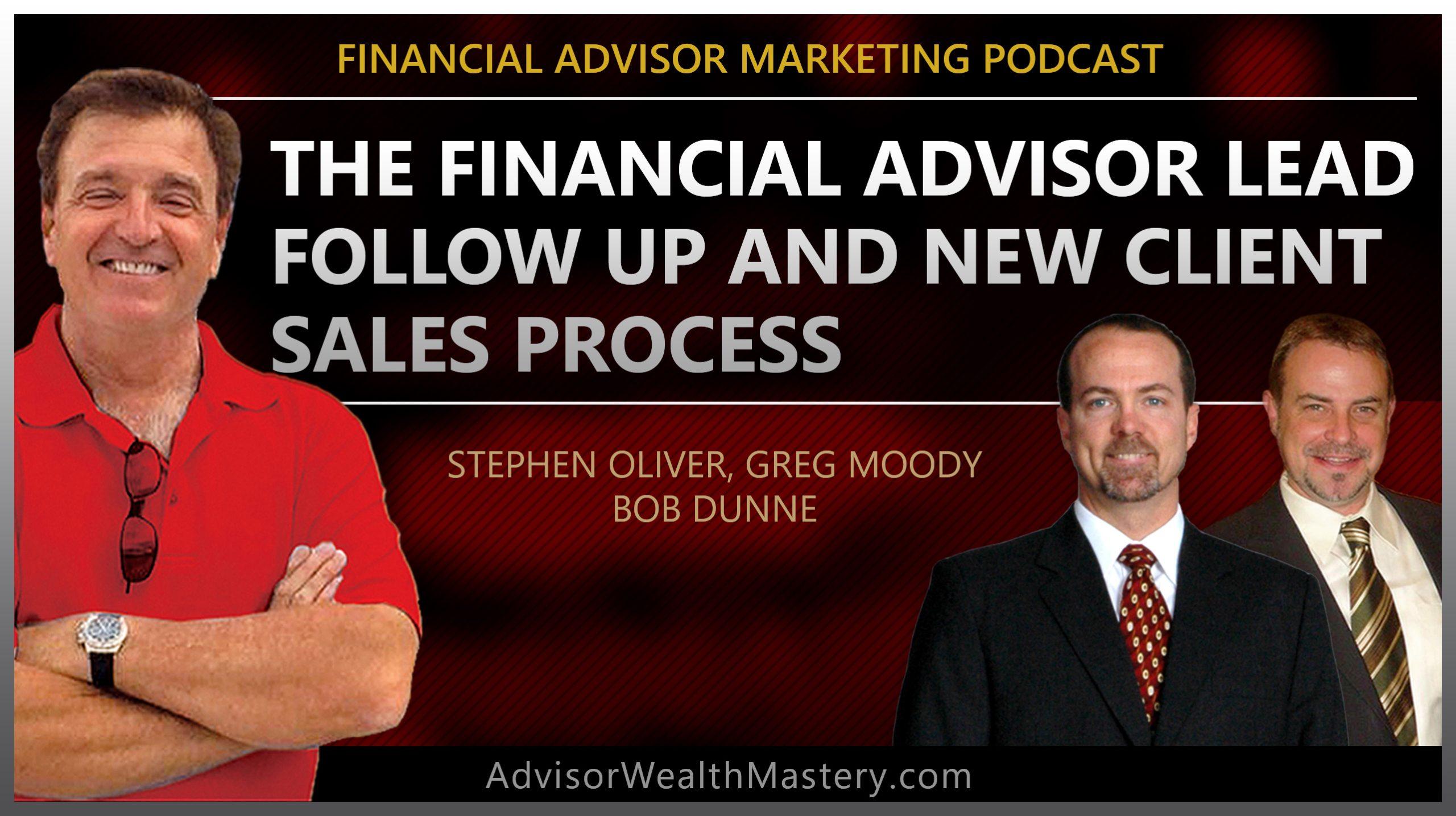 Financial Advisor lead follow up process