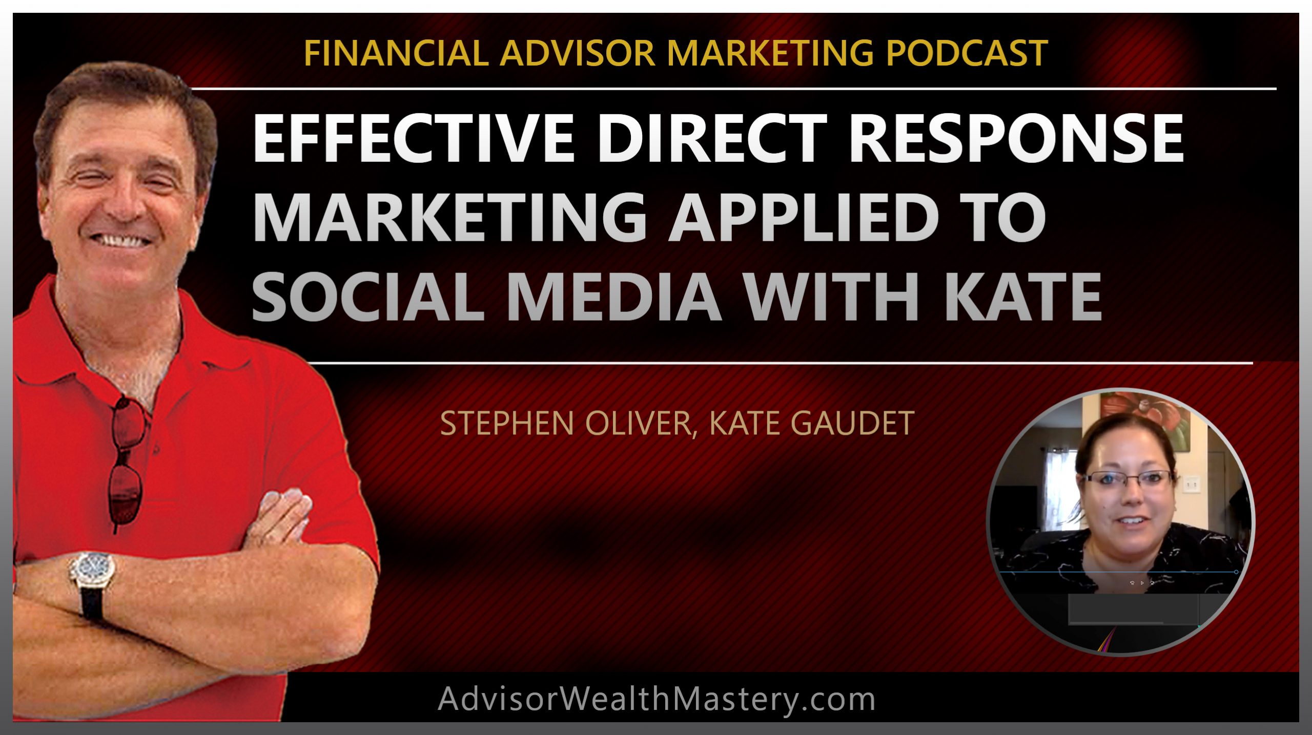 Effective Direct Response Marketing Applied to Social Media with Kate and Stephen