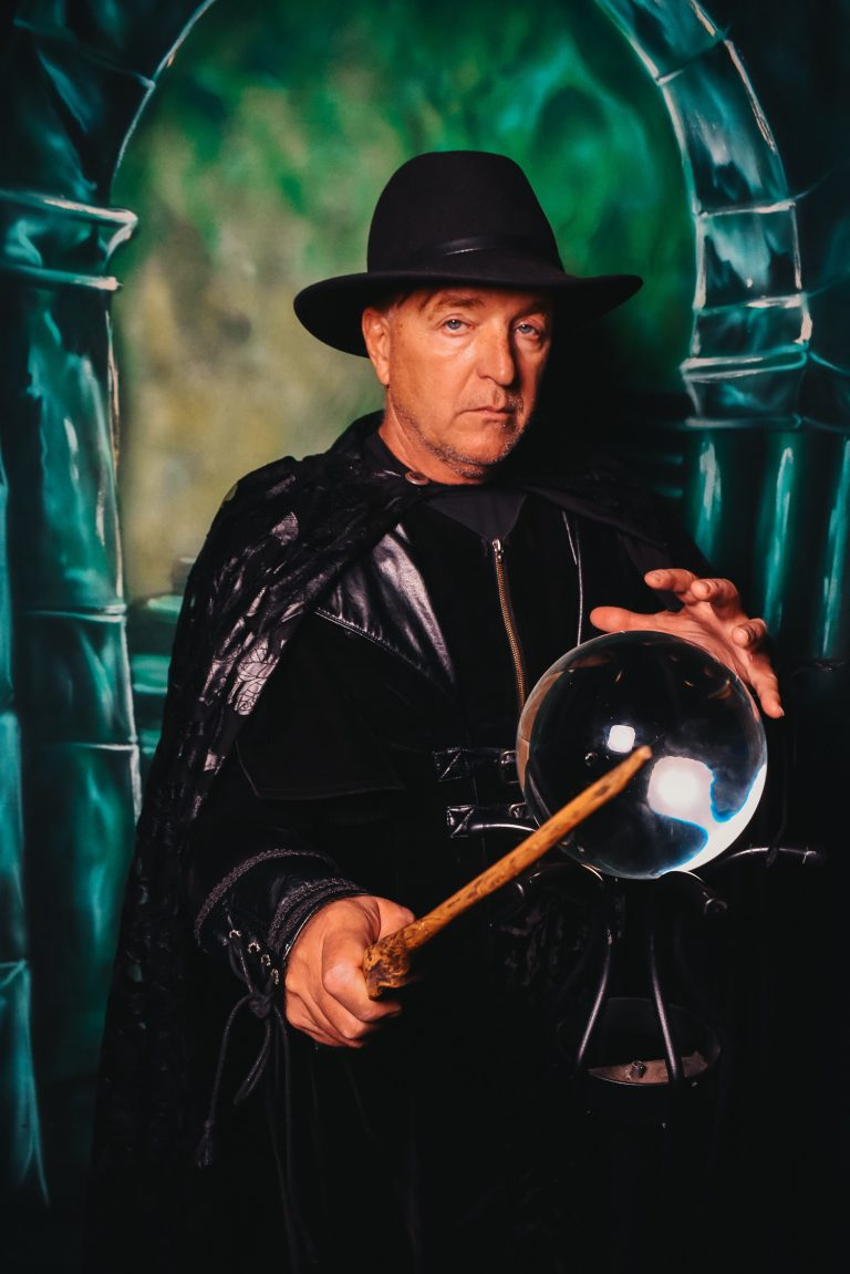 Stephen Oliver as a Wizard in Salem